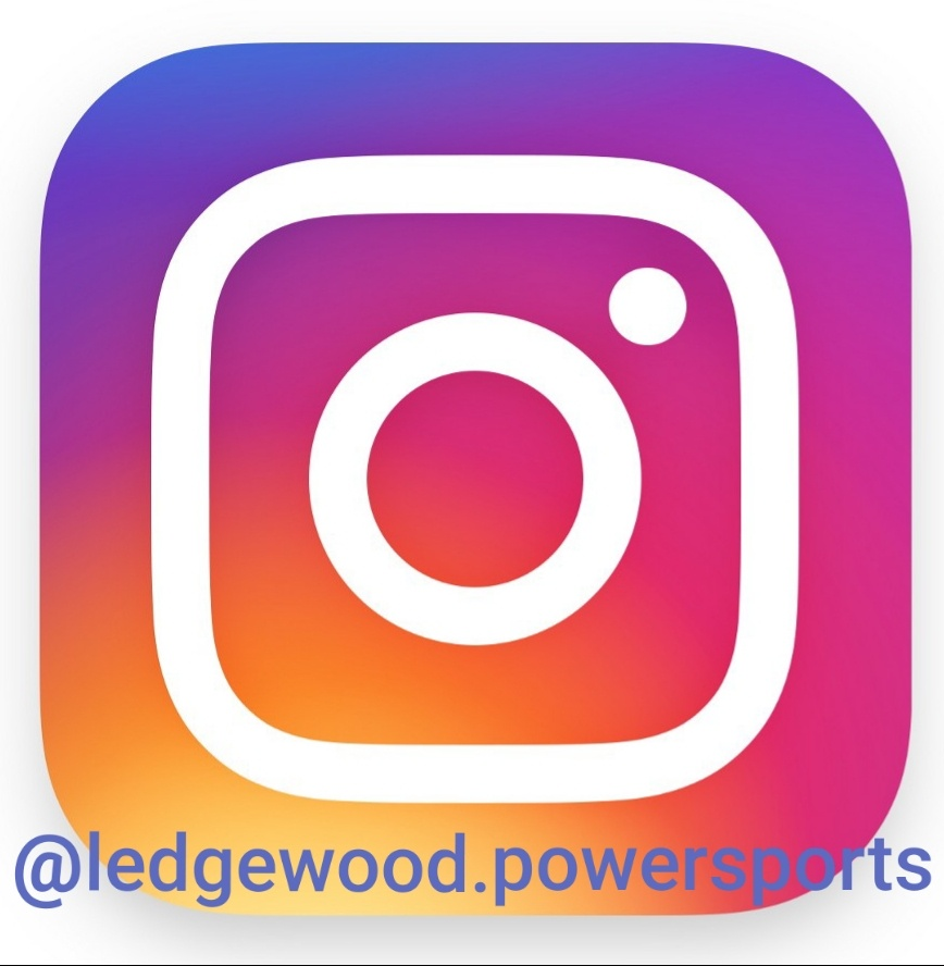 Follow Ledgewood Powersports on Instagram