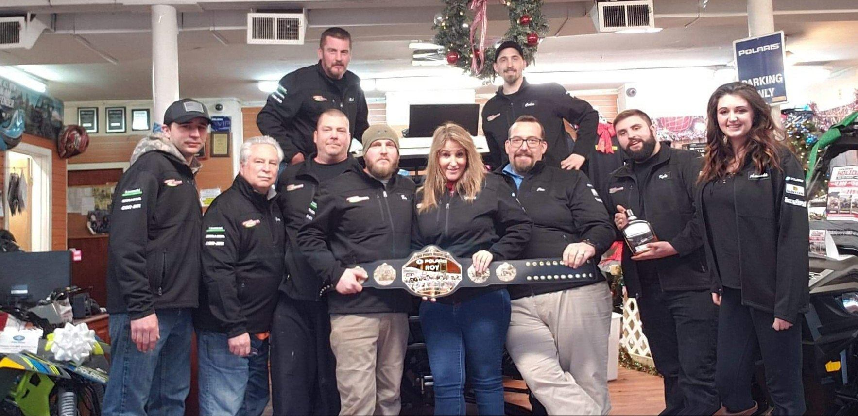 Ledgewood Powersports is the POLARIS 2018 RETAILER OF THE YEAR