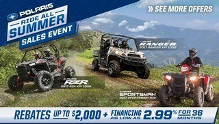 Polaris Ride All Summer Sales Event